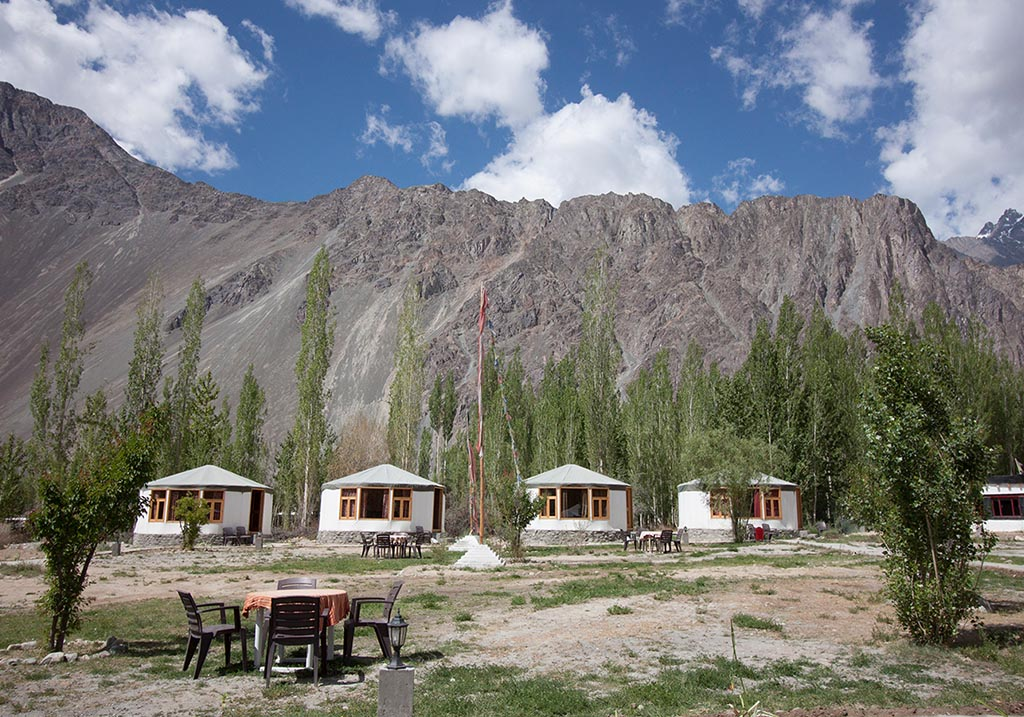Exterior view of Nubra Sarai