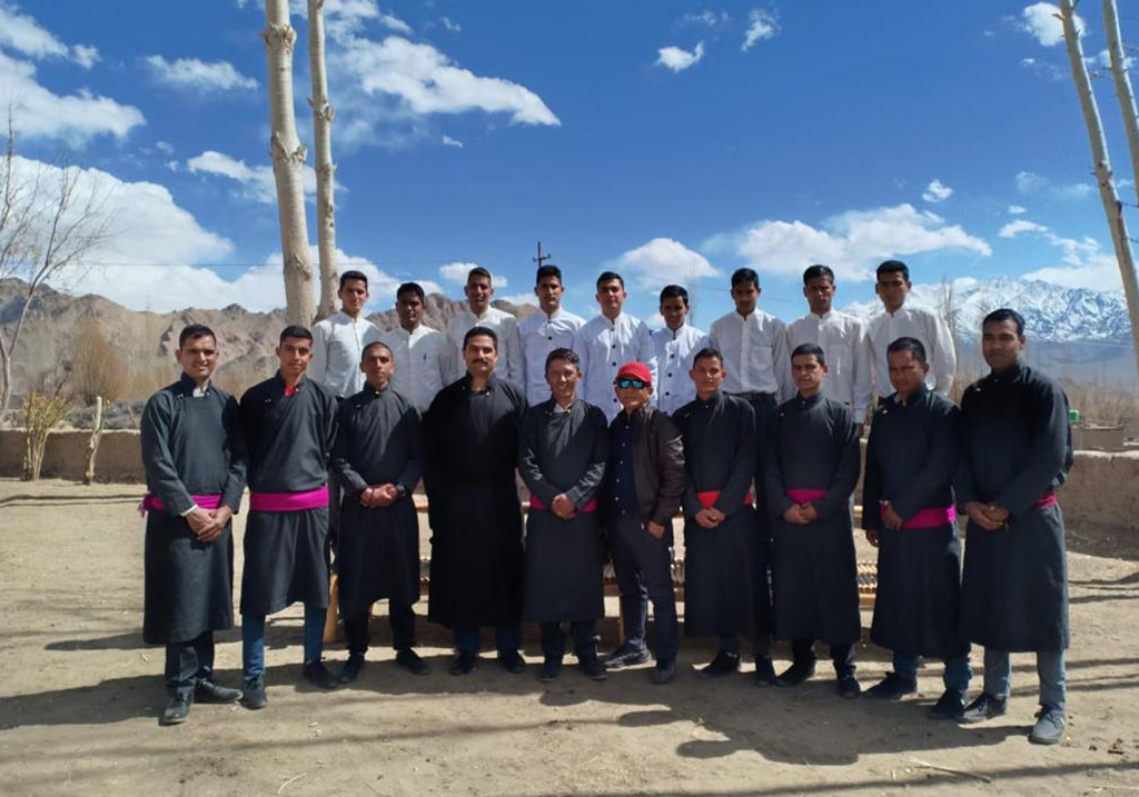 the ladakh sarai team