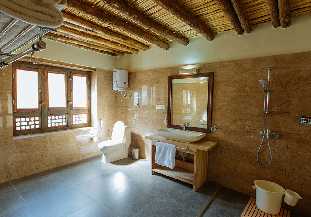 Bathroom facility at the Heritage wing