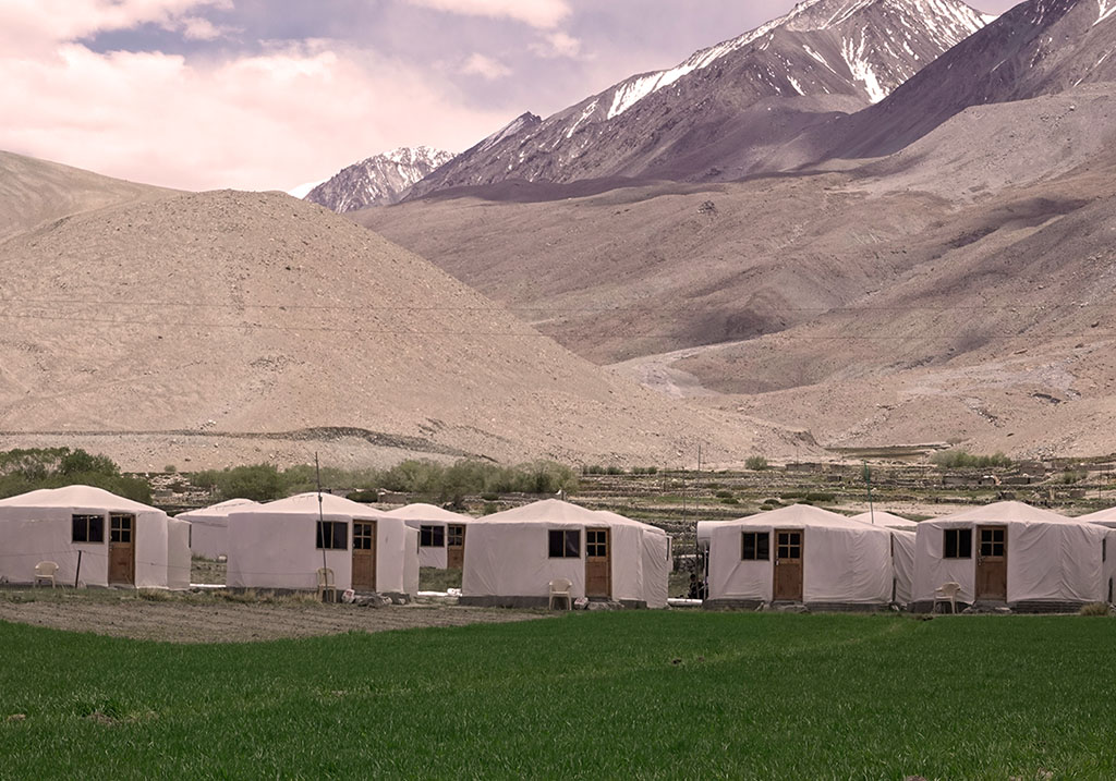 Exterior view of Pangong Sarai