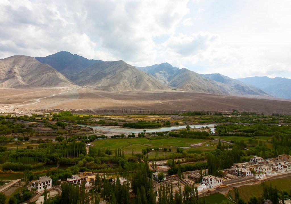 View of Leh valley
