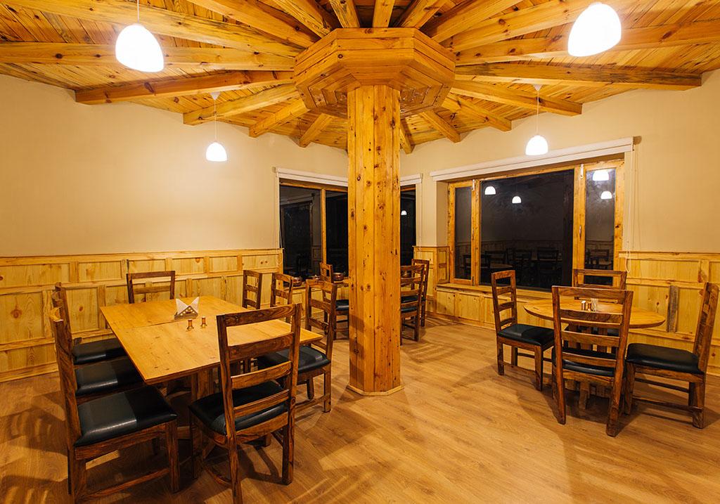 Dining area of Chansa